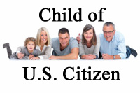 Child of US Citizen Immigration Services