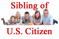 Sibling of U.S. Citizen Immigration Services