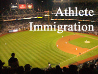 athlete immigration